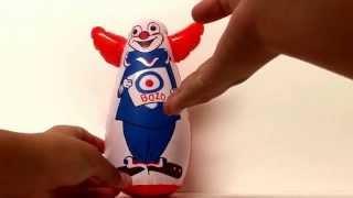 The Toy shop: the mini bozo the clown punching bag