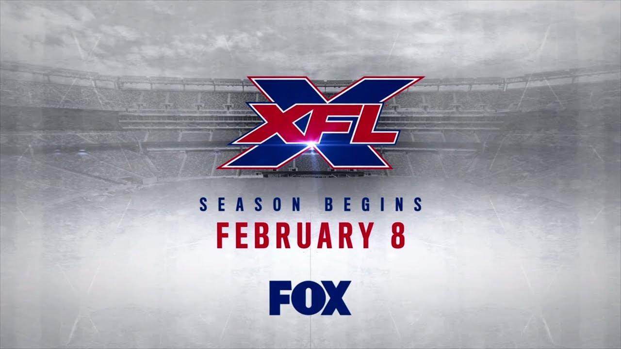 XFL on FOX   Premieres February 8, 2020