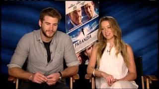 RAW: Liam Hemsworth Teases Co-star Amber Heard about ZBB