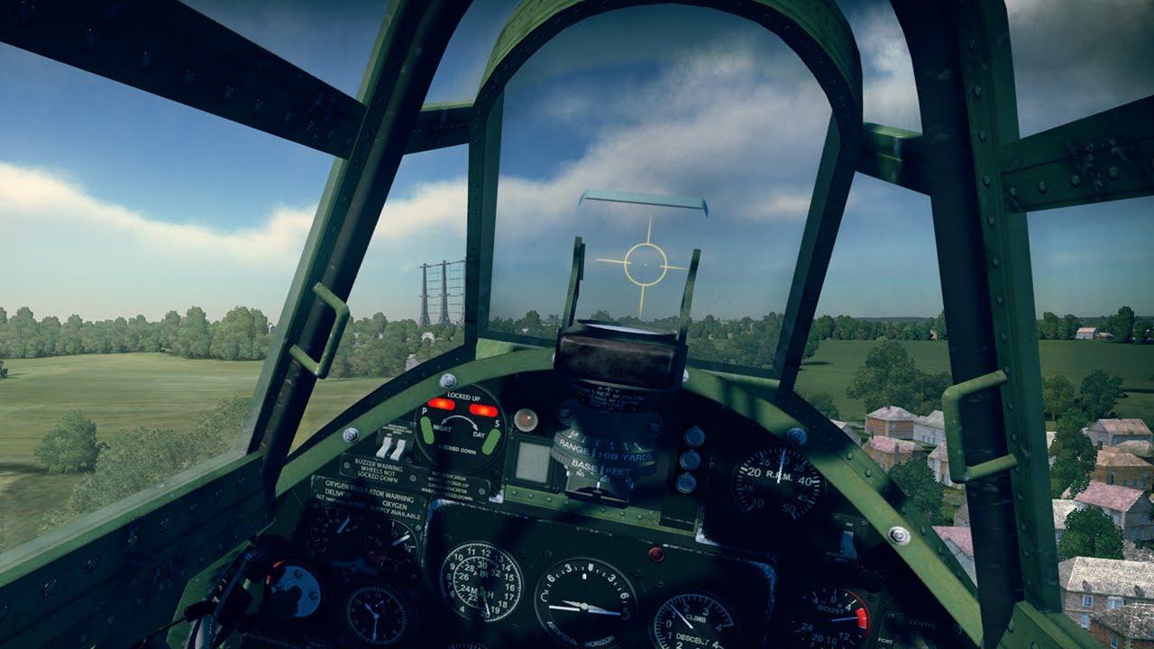 War thunder gameplay first person