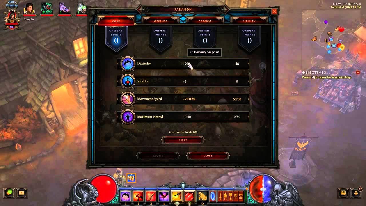 Diablo  Max Crafting Level