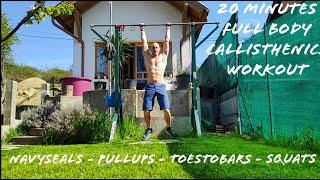 20 min full body callisthenics workout