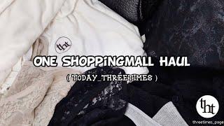 """threetimes""쇼핑몰 , 오랜만에 돌아 온 약 …"