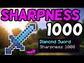 How To Get A Sharpness 1,000 Sword In Minecraft 1.13! (2019)
