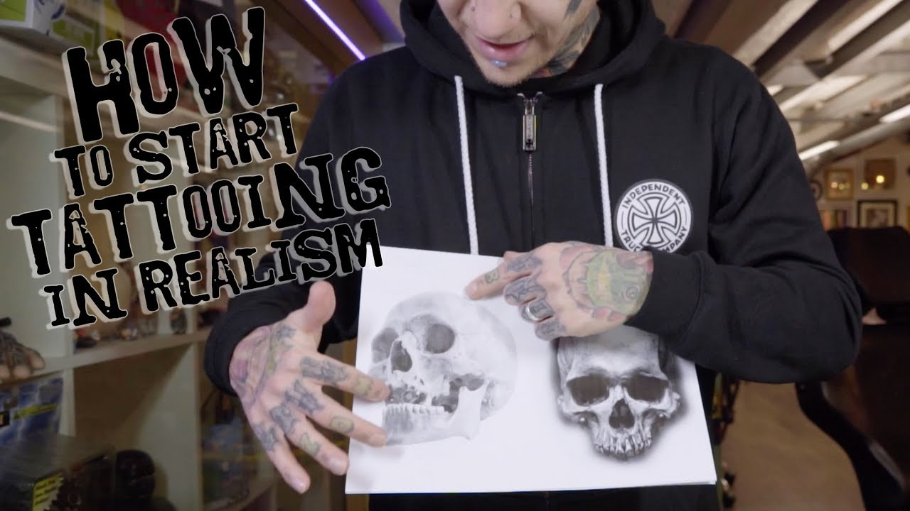 how to start tattooing in realism youtube