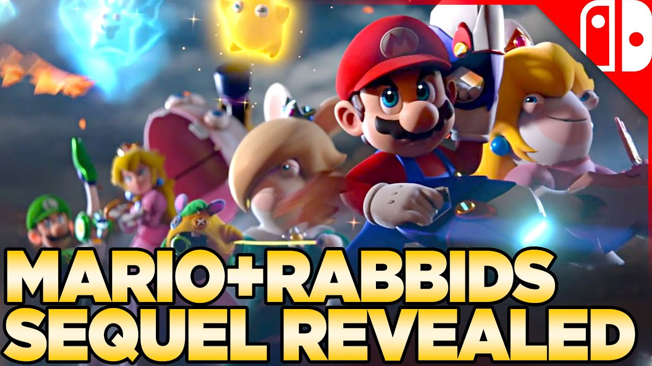 Mario + Rabbids Sparks of Hope Reveal & Overview