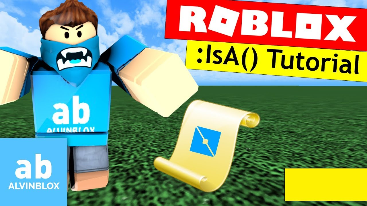Roblox Isa Tutorial Classname Checking Youtube