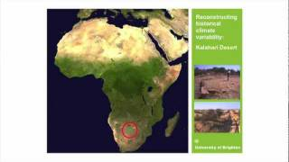 Like the deserts miss the rain: landscape change and climate variability in the world