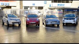 Voitures électriques [2/4 - AUTONOMIE] : Renault Zoé vs BMW i3 vs Nissan Leaf vs Hyundai Ioniq