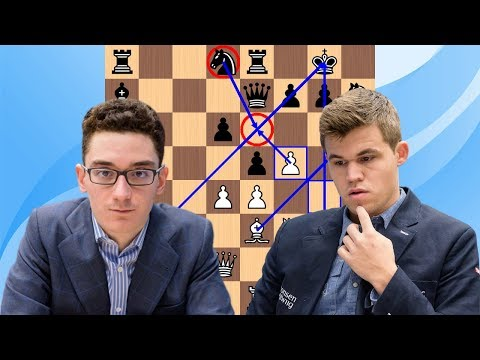 Fabiano Caruana vs Magnus Carlsen: 2017 Isle of Man Masters
