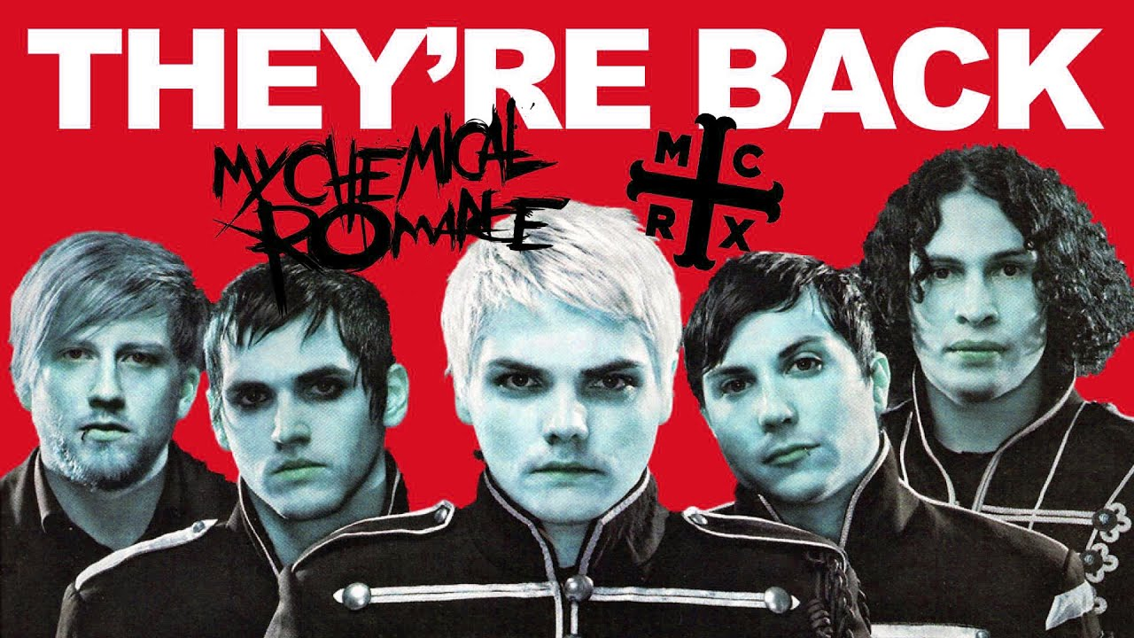 My Chemical Romance Getting Back Together MCRX