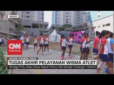 Tugas Akhir Pelayanan Wisma Atlet Asian Games 2018