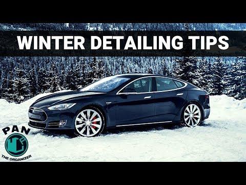 WINTER CAR DETAILING TIPS !!