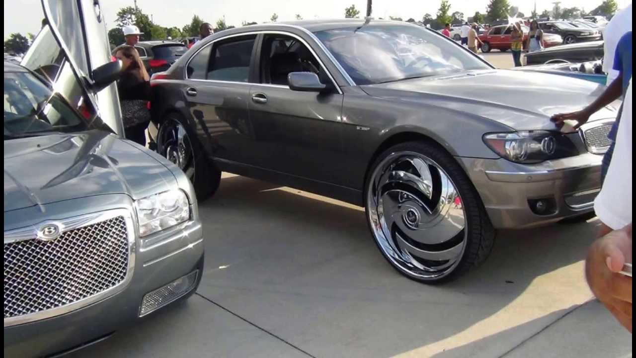 1st cadillac conversion van on 28s escalade front - YouTube