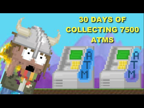 Growtopia - 30 Days Of Collecting 7500 Atms