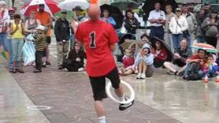 Mr. Spin Juggling Act - Edmonton Street Performers Festival Thumbnail