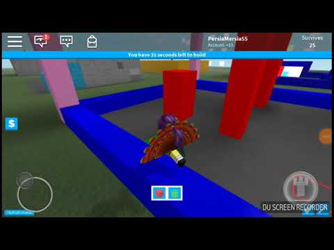 Ronblox (Creating a obby in build to survive!♡)