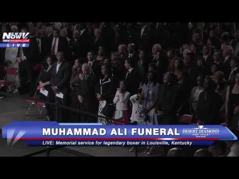FULL: Muhammad Ali Funeral/ Memorial Service in Louisville, Kentucky (FNN)