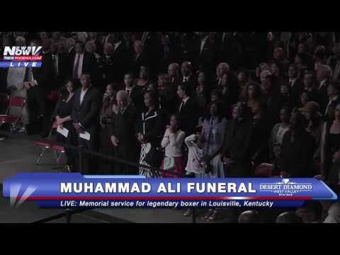 FULL: Muhammad Ali Funeral/ Memorial Service in Louisville, Kentucky