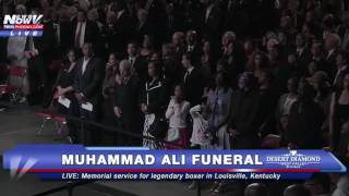 FULL: Muhammad Ali Funeral/ Memorial Service in Louisville, Kentucky