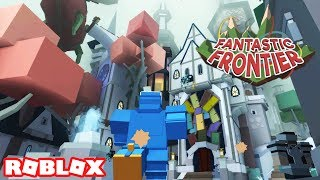 Roblox Fantastic Frontier Beta / THE TOWN OF RIGHT AND WRONG / Episode #3 (Fantastic Frontier Beta)