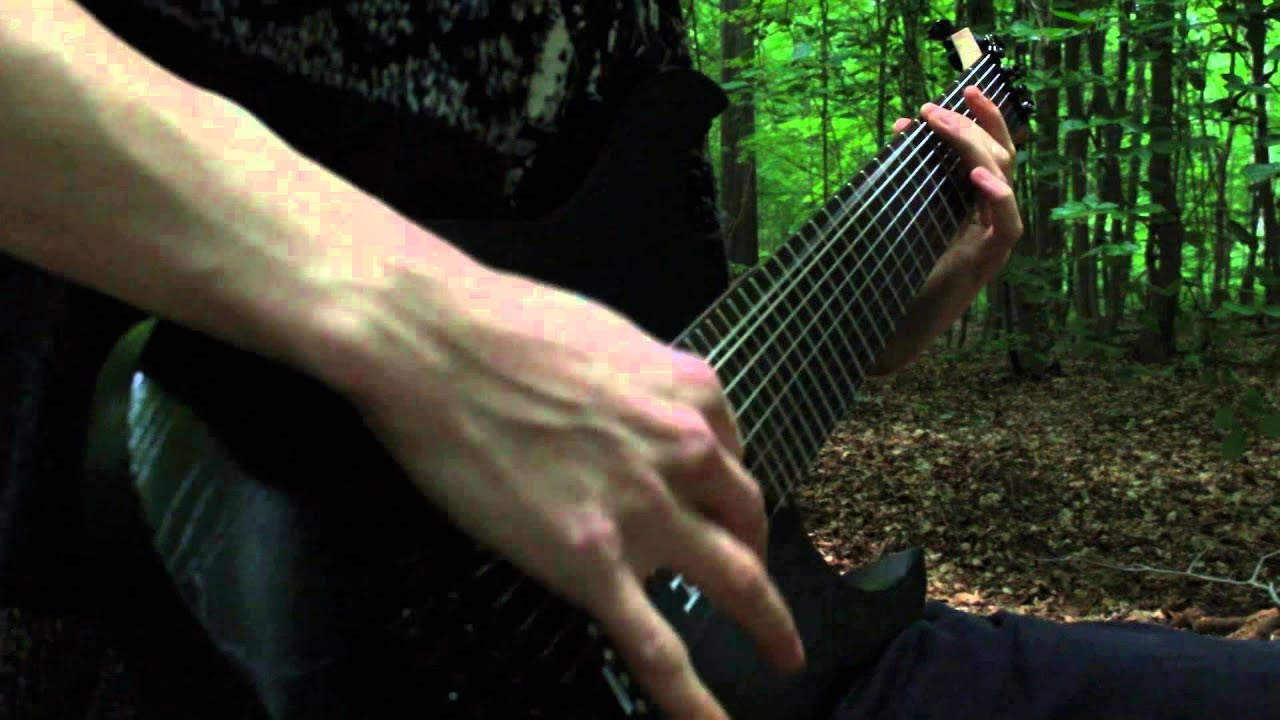 meshuggah do not look down wooden and guitar cover youtube