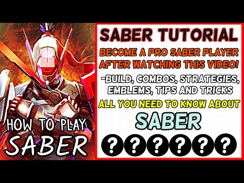 Ultimate Saber Tutorial: Never Lose A Star Using this Method - Tips and Tricks - Mobile Legends - 동영상