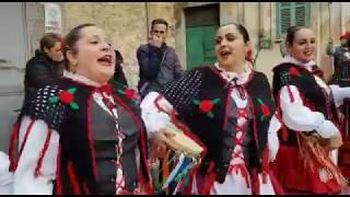 18/03/2018 Gruppo Folklorico MonteReale: Si Maritau Rosa parte 1