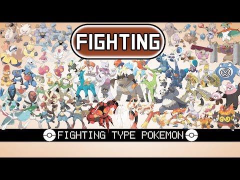All Fighting Type Pokémon