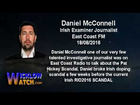Journalist Daniel McConnell on the Pat Hickey arrest scand at RIO2016