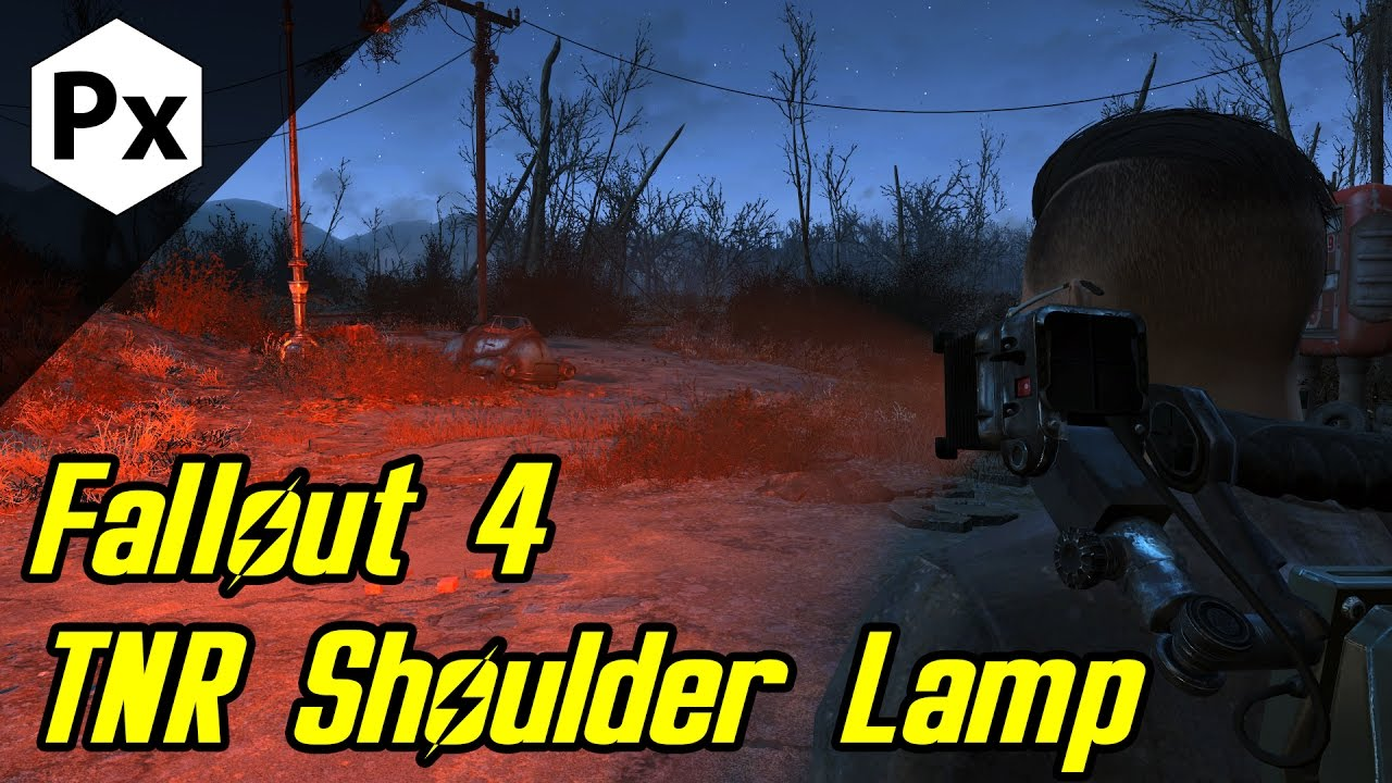 Fallout 4 Mod: TNR Shoulder Lamp - YouTube