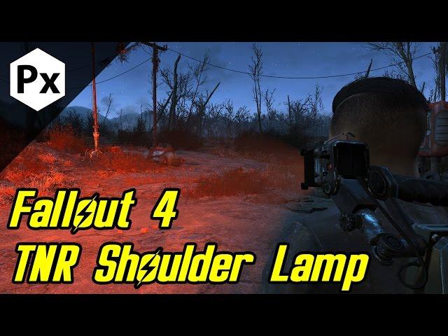 10 Homes - Fallout 4 Mod: TNR Shoulder Lamp