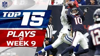 Top 15 Plays of Week 9 | NFL Highlights