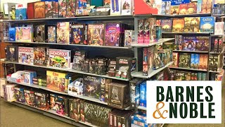 BARNES AND NOBLE GAME SECTION BOARD GAMES PUZZLES SHOP WITH ME SHOPPING STORE WALK THROUGH