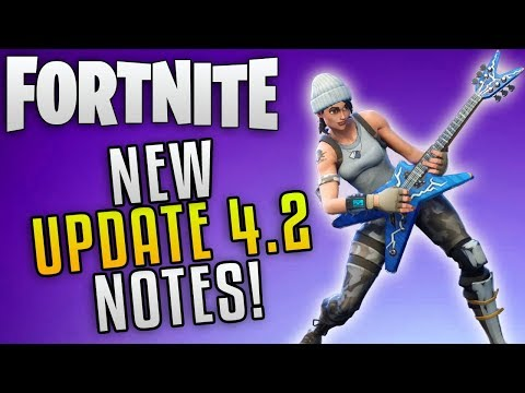 Fortnite Update 4.2 Patch Notes