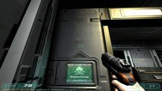 One In A Million I Guessed The right Code Doom 3 Gameplay HD Outtakes Number 1