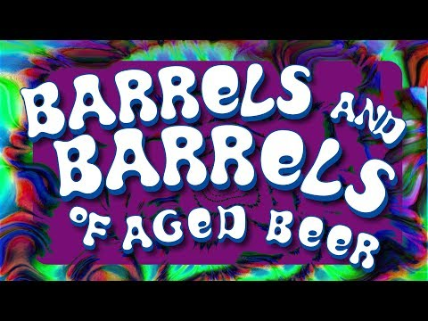 Barrels And Barrels Of Aged Beer!