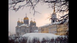 Город Владимир, прогулка по городу, колесо обозрения Небо 33, новогодние праздники 2018