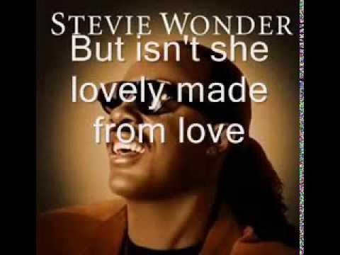 stevie-wonder-isn't-she-lovely-lyrics