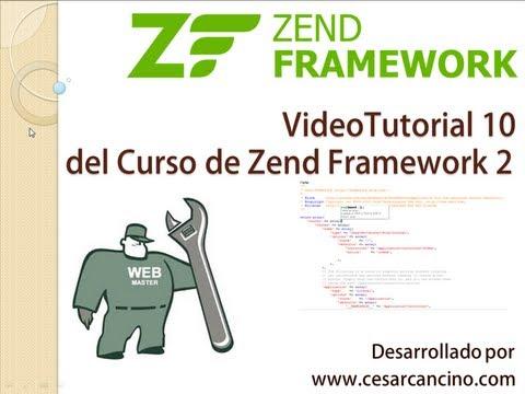 VideoTutorial 10 del Curso de Zend Framework 2 ( ZF2 ). Introducción a ZendDb