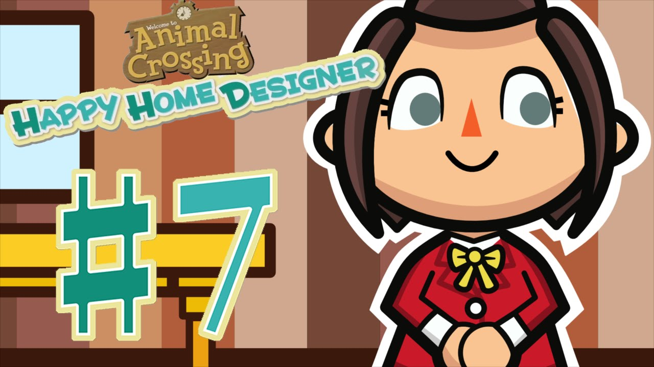Let\'s Play Animal Crossing: Happy Home Designer - #7 Do the Robot ...
