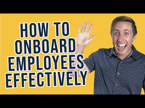 How To Onboard Employees Orientation Checklist