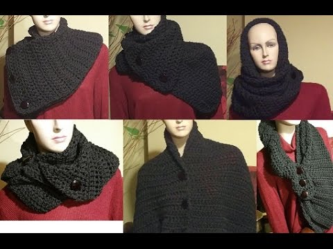 Free Crochet Pattern For Dallas Dream Scarf : Tutorial sciarpa alluncinetto - Dallas dream scarf ...