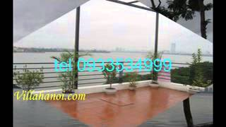 villahanoi.com -Hanoi lake view apartment for rent 2 bedroom view to westlake Hanoi