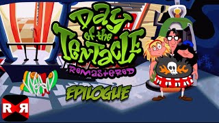 Day of the Tentacle Remastered - iOS / Android - Walktrough Video Part 7 Epilogue