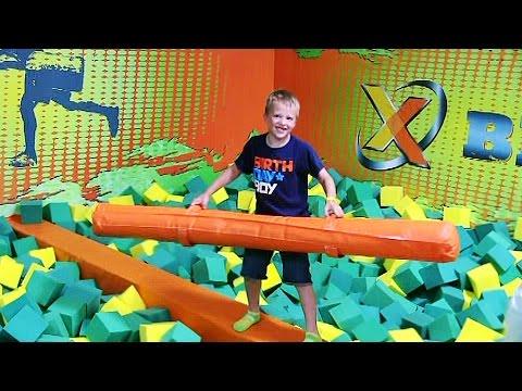 David's Rockin Jump Birthday Party