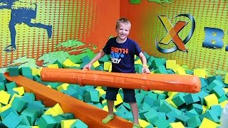David's Rockin Jump Birthday Party