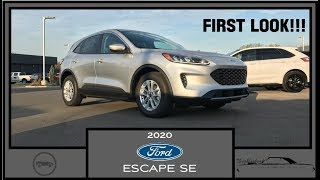 2020 Ford Escape SE EcoBoost|First Look|Quick Look|First Impressions