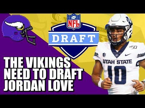 Vikings NEED To Draft Jordan Love 💜💛💜