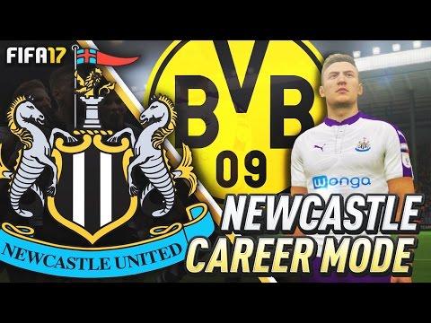 DORTMUND STAR JOINS NEWCASTLE!!! FIFA 17 Newcastle United Career Mode #5